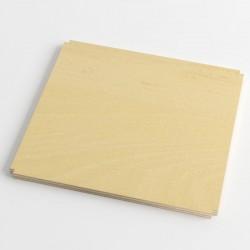 iPot shelf wood / plexiglass