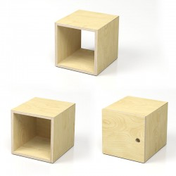 iPot scatola in legno 4, 5 o 6 facce