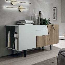 Sideboard with open compartment - Versus