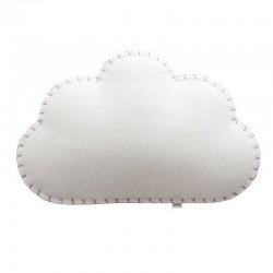 Nube applique in tessuto