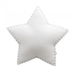 Estrella applique in tessuto