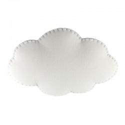 Nube lampada a sospensione in tessuto