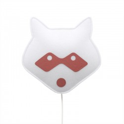 Wall lamp for kids in fabric - Mapache