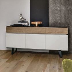 Sideboard vintage style w/doors and drawers - Electa