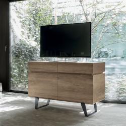 Sideboard in wood 2 doors/ 2 drawers -Electa
