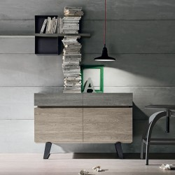 Sideboard with 2 doors and 2 drawers - Electa