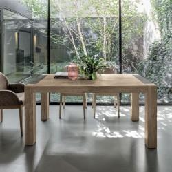 Wooden extensible table - Monolite 160