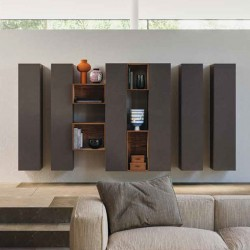 Wall unit composition bookcase - Day 04