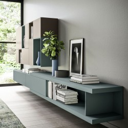 TV cabinet / bookcase composition - Day 08