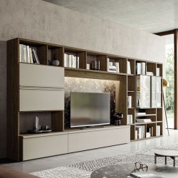 Day 21 bookcase / TV cabinet composition