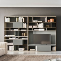 Day 26 bookcase / TV cabinet composition