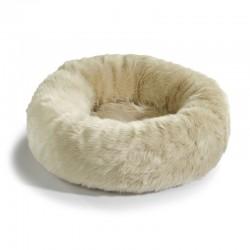 Cuccia per gatto in eco pelliccia - Lana