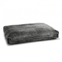 Felpa cushion dog bed in faux fur