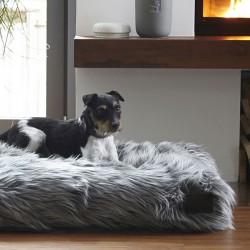 Capello cuscino cuccia per cane in eco pelliccia