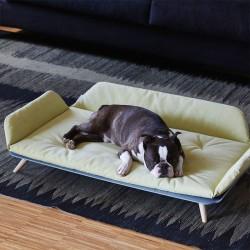 Dog bed / sofa in fabric and aluminium - Roy