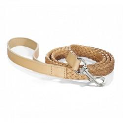 Venezia dog leash in leather