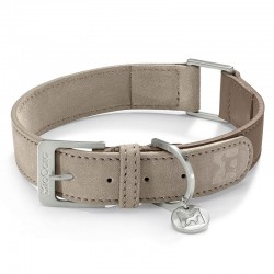 Como dog collar in leather