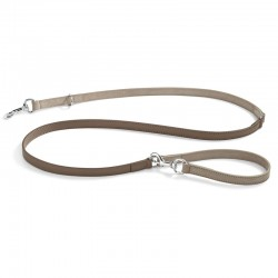 Como dog leash in leather