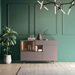 System 03 modular sideboard with open unit