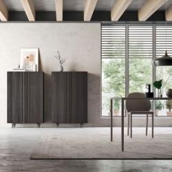 Virgo 02 modular cupboard with shelf