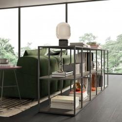 Grafic 01 modular metal bookcase