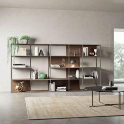 Grafic 04 modular metal bookcase