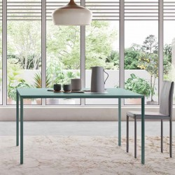 Dining table in metal - Slim