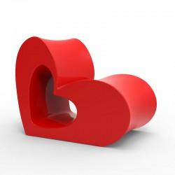 Poltrona cuore in polipropilene - Agatha