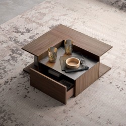 Puzzle coffee table with...