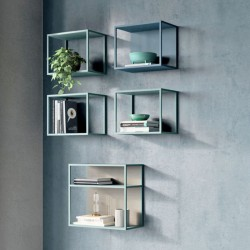 Grafic shelf / bookcase in...