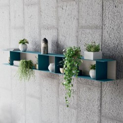 Lanny shelf / bookcase in metal and wood