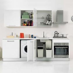 Cucina Salvaspazio con Lavanderia - Smart