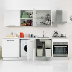 Space-Saving Kitchen with Laundry - Smart