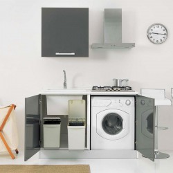Mini Kitchen with Laundry - Smart