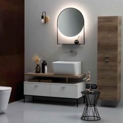 Composizione bagno / lavanderia in legno - Wynn 1