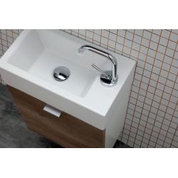 Composizione bagno con mini lavabo e mobili sospesi - Mini 3