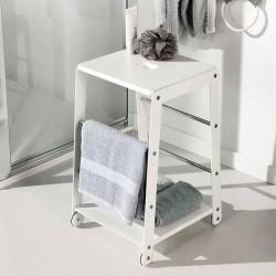 Stool with towel rack - Biro
