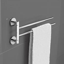 Towel holder in brass -...