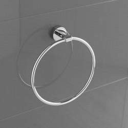Ring Towel holder in brass...