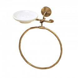 Towel holder ring w/soap...