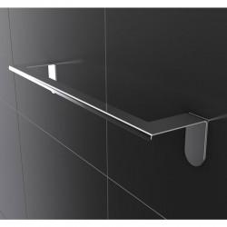 Towel holder in steel  - Easy