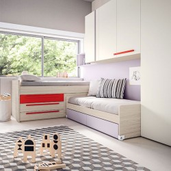 Kids Bedroom set with 2 or 3 beds - Start P26