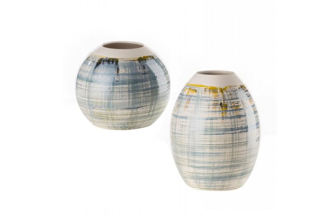 Ceramic low or high vase - Fantasy