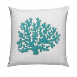 Cuscino in tessuto - Corallo