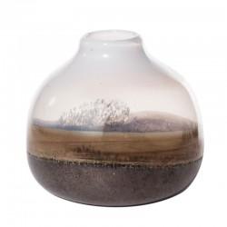 Low ceramic vase - Desert