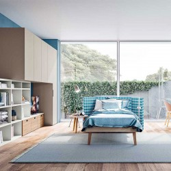 Kids Bedroom with single bed - Start T14