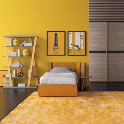 Kids bedroom with bed and sliding wardrobe - Start Up 02