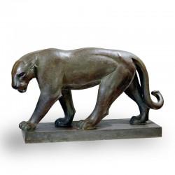 Statua in bronzo - Pantera
