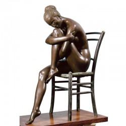 Statua in bronzo - Patrizia