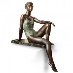 Statua in bronzo - Sotto il...